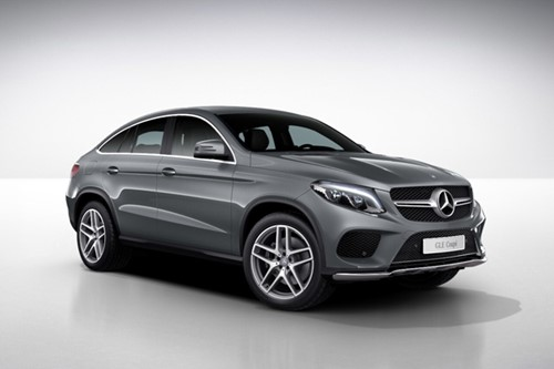 Mercedes-Benz GLE 350 D 4MATIC Coupé (ref: 0751336556)