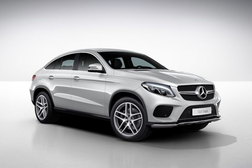 Mercedes-Benz GLE 350 D 4MATIC Coupé (ref: 0751336557)