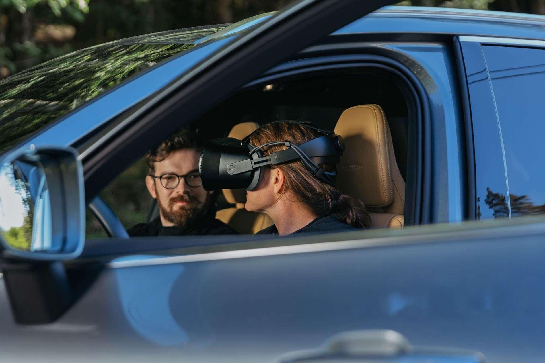 Volvo Cars en Varjo lanceren eerste toepassing van mixed reality voor auto-ontwikkeling ter wereld