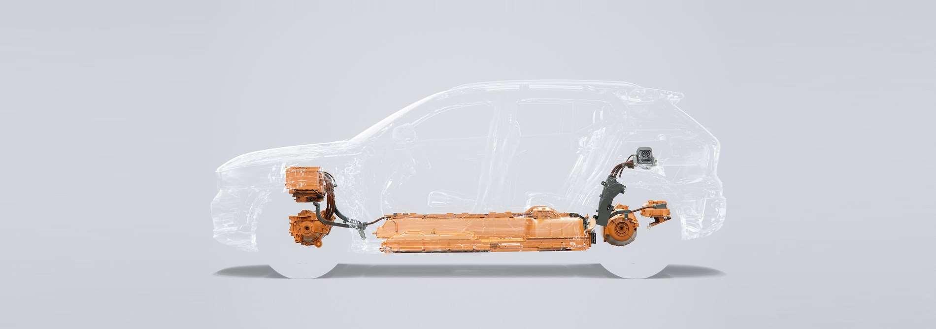 De volledig elektrische XC40 – Volvo's eerste elektrische wagen en een van de veiligste auto's op de weg