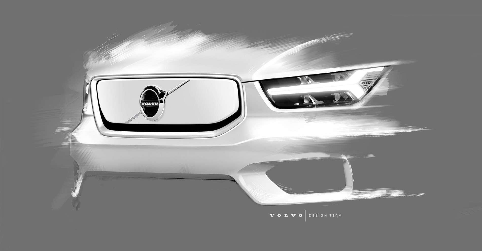 De volledig elektrische Volvo-SUV XC40 doet meer met minder en luidt een nieuwe elektrische toekomst in