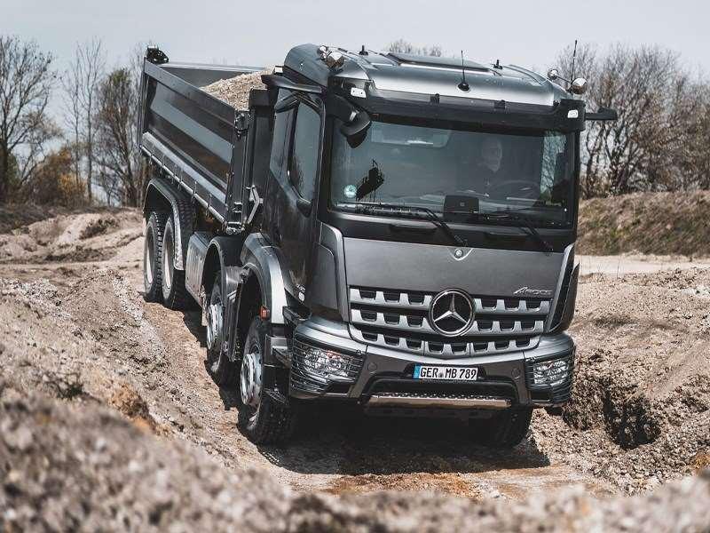 Mercedes-Benz Trucks à Matexpo