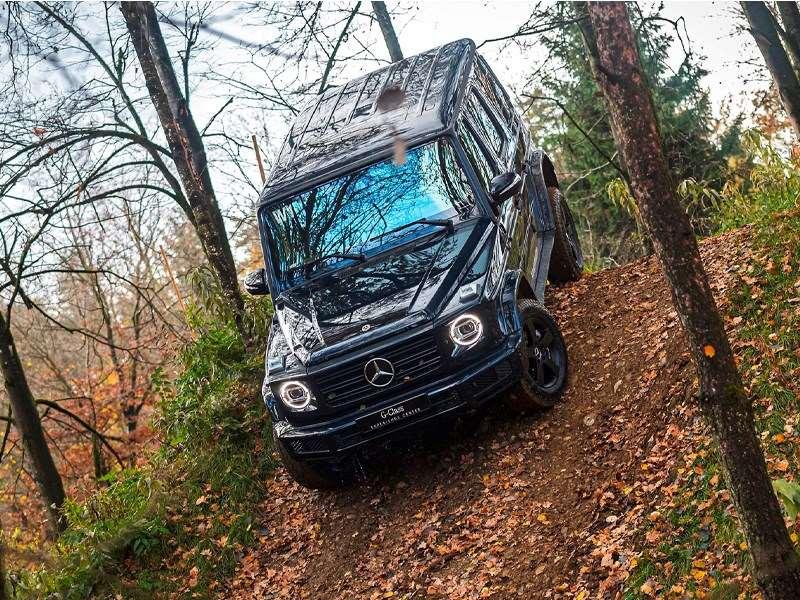 Découvrez la Classe G de Mercedes-Benz dans un style spectaculaire