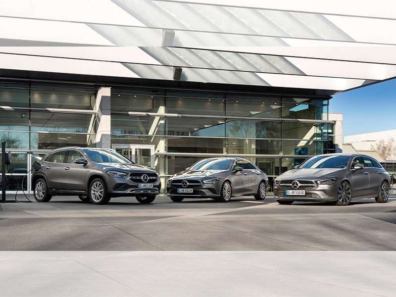 CLA Coupé, CLA Shooting Brake et GLA maintenant avec EQ Power