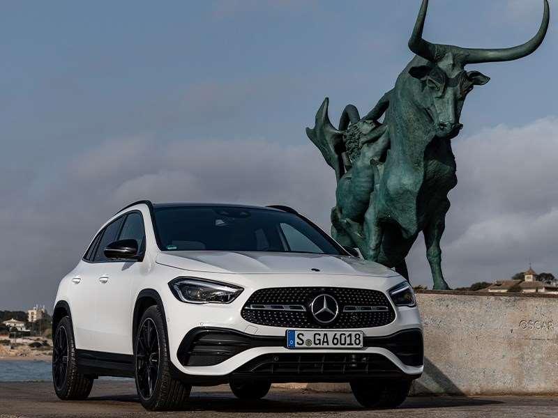 Le nouveau Mercedes-Benz GLA
