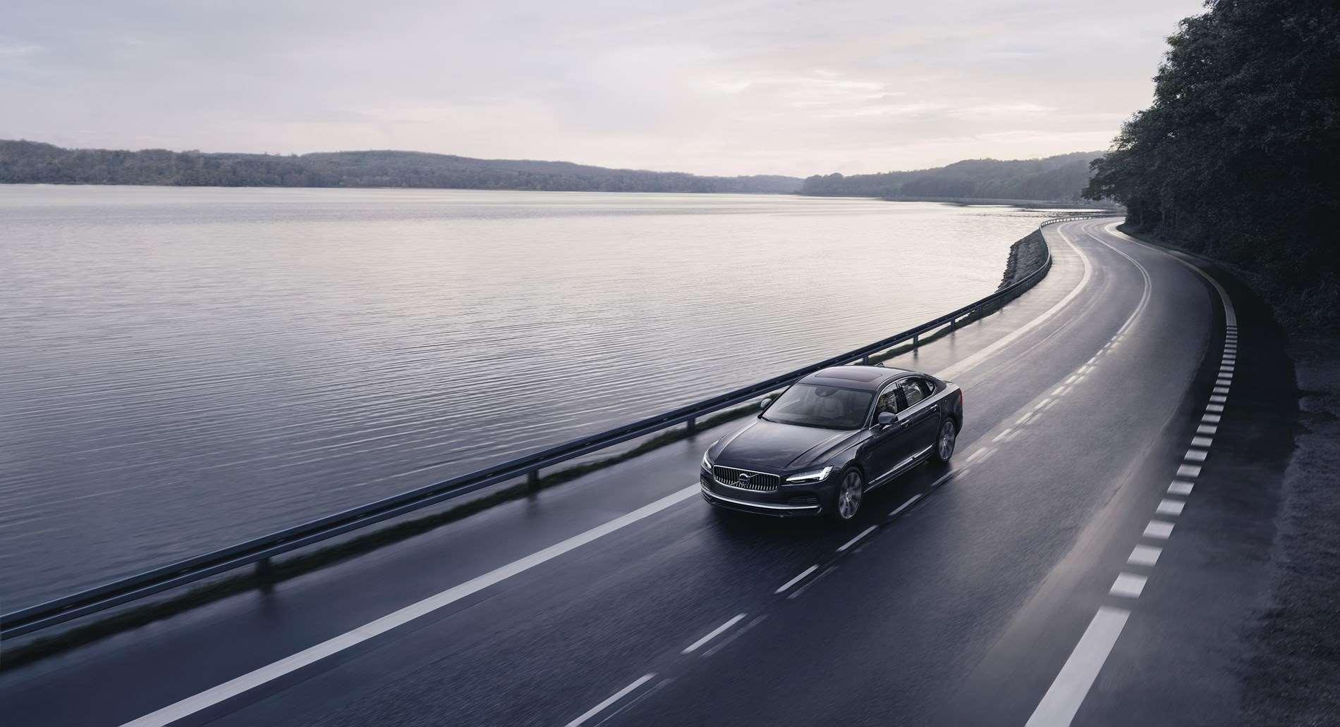 Elk Volvo-model wordt voortaan geleverd met een snelheidsbegrenzing van 180 km/u en een Care Key