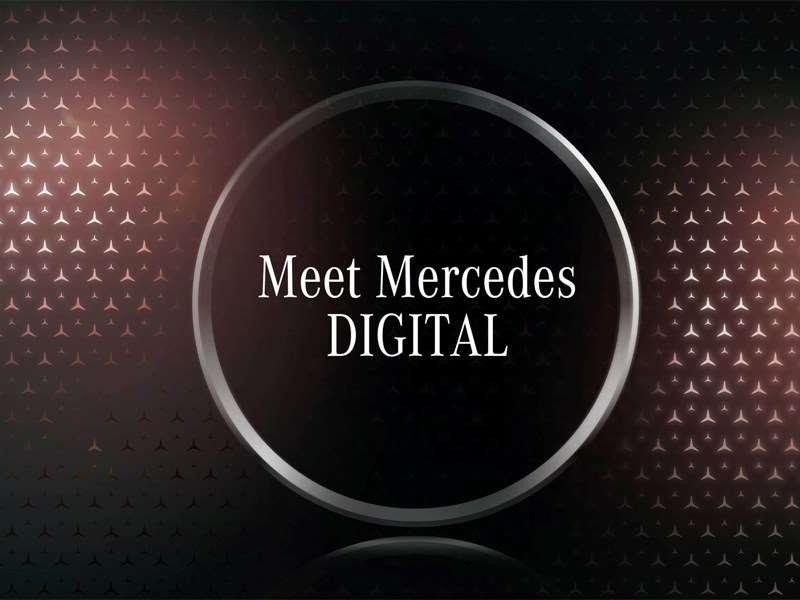 Nouveau format d'actualités numériques pour les représentants des médias : Meet Mercedes DIGITAL – la conférence de presse numérique qui va plus loin