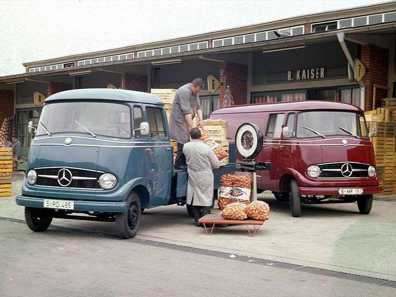 Le Mercedes-Benz Sprinter - depuis 25 ans, un pionnier dans sa classe