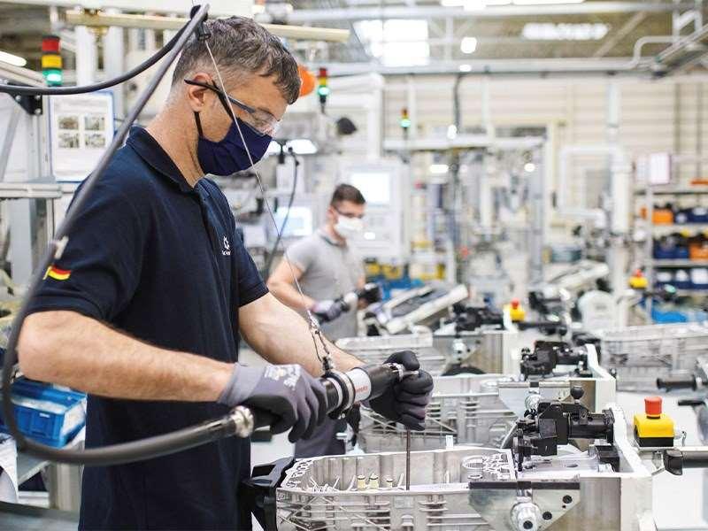 Mercedes-Benz Pkw-Werke weltweit im Wiederanlauf
