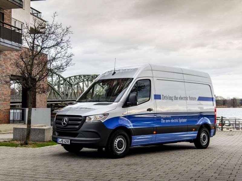 Mercedes-Benz Vans lance la vente du eSprinter électrique