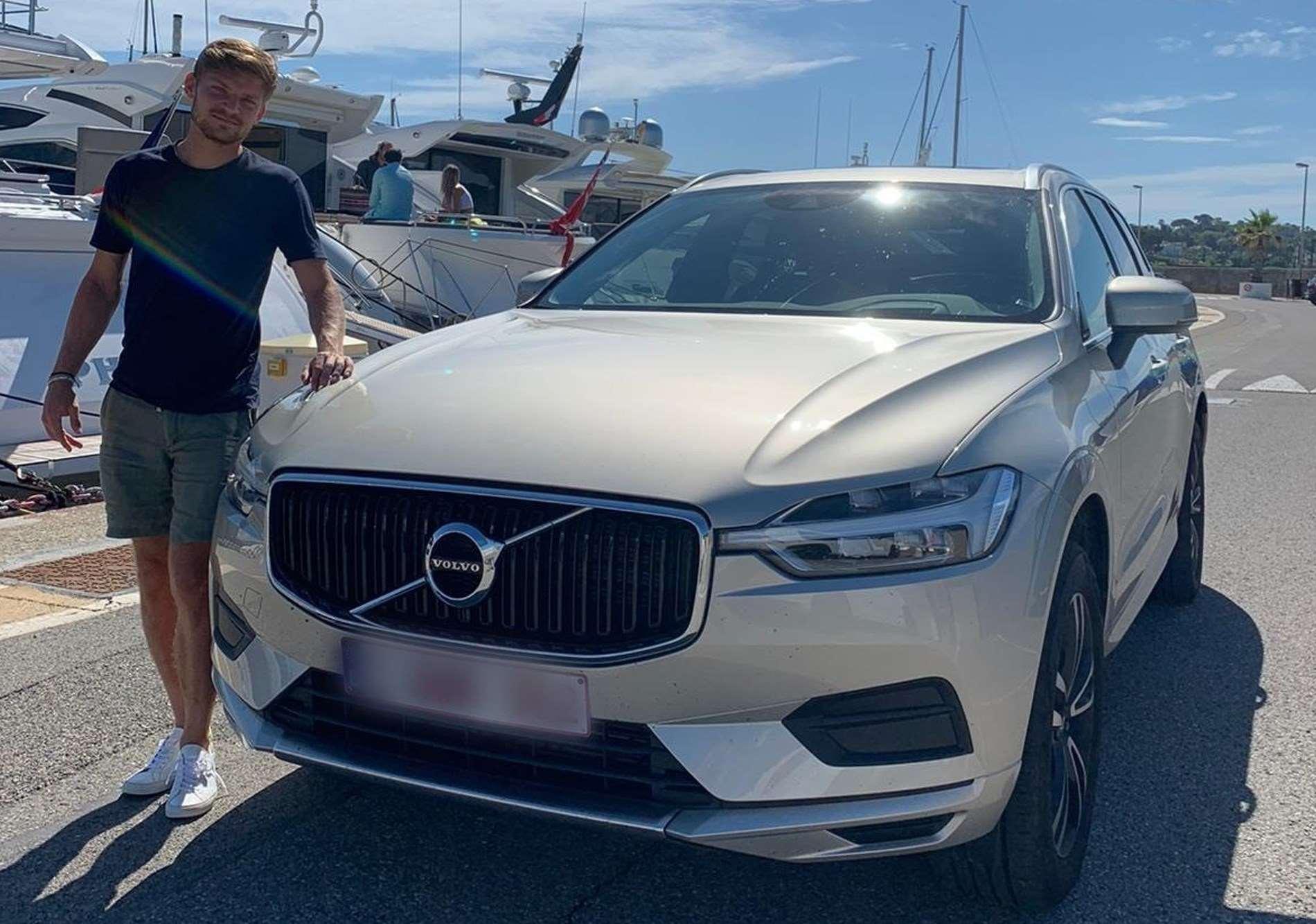 Volvo Cars wordt officiële sponsor van David Goffin en drukt stempel verder door op tenniswereld