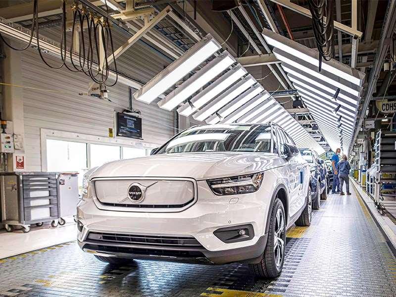Volvo Car Gent start productie van de volledig elektrische XC40 Recharge