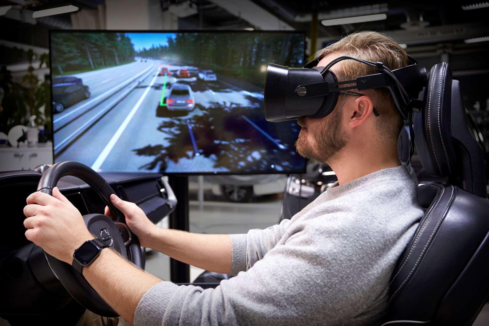 'Ultieme rijsimulator' van Volvo Cars gebruikt nieuwste gamingtechnologie om veiligere wagens te ontwikkelen