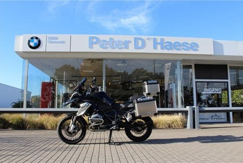 R 1200 GS Triple Black met aluminium koffers