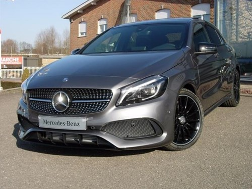 A 180 d AMG LINE Night Edition